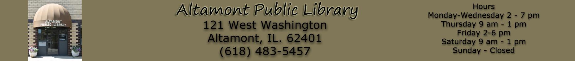 Altamont Library Logo